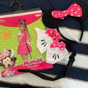 Disney Minnie Mouse accessory costume kit girls